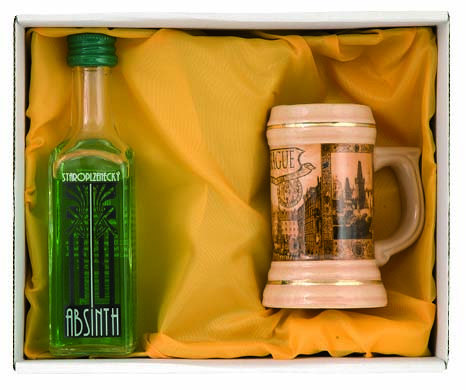 Set Absinth 1 ks minibavor
