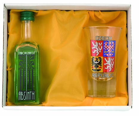 Set Absinth 1 ks sklo